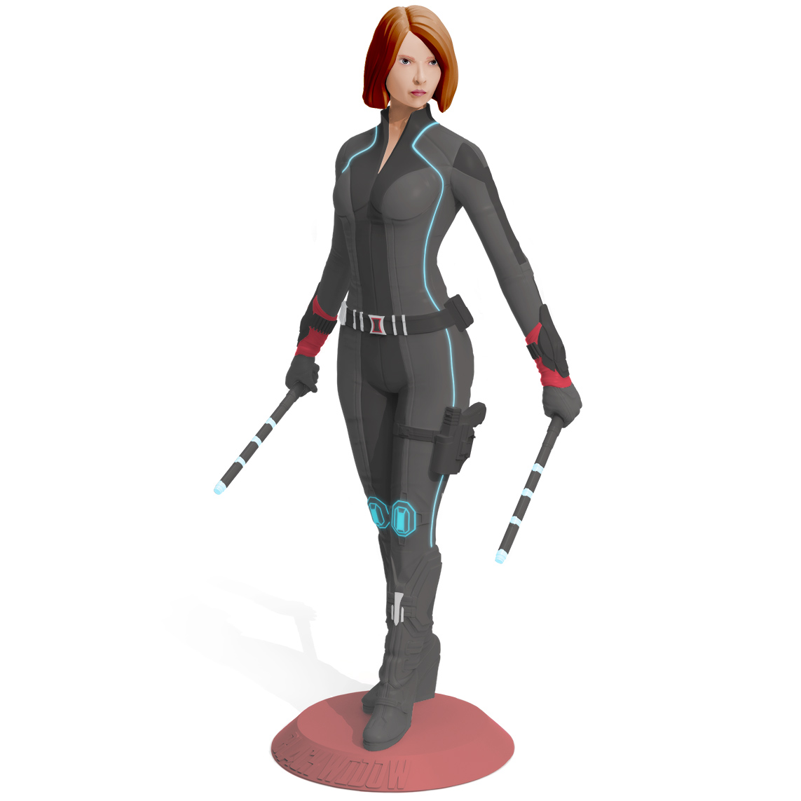 Black Widow, 3D Printer Models