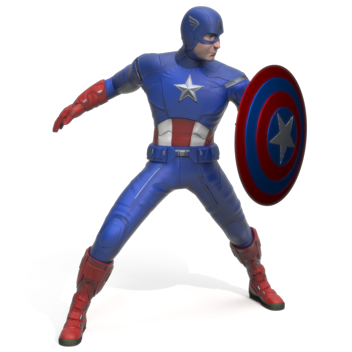 Captain America, 3D Printer Models