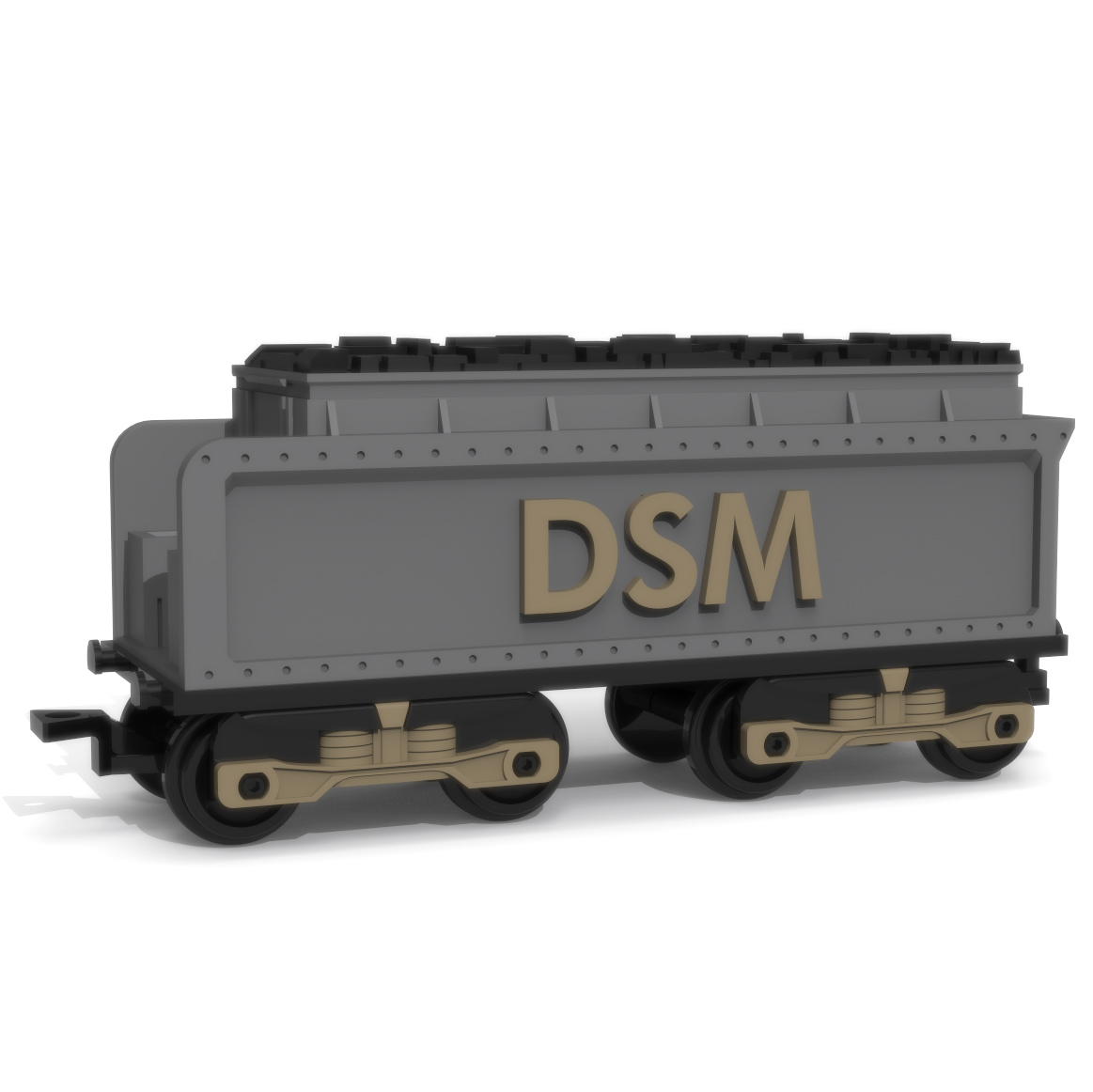 Coal Wagon, 3D Printer Models