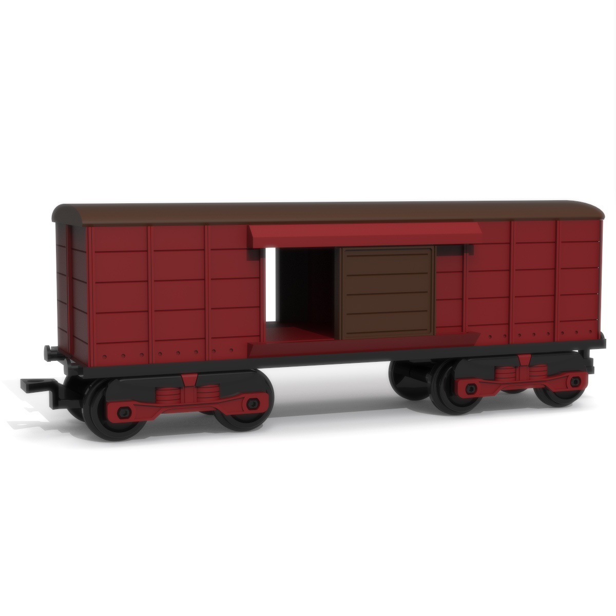 Freight Wagon, 3D Printer Models