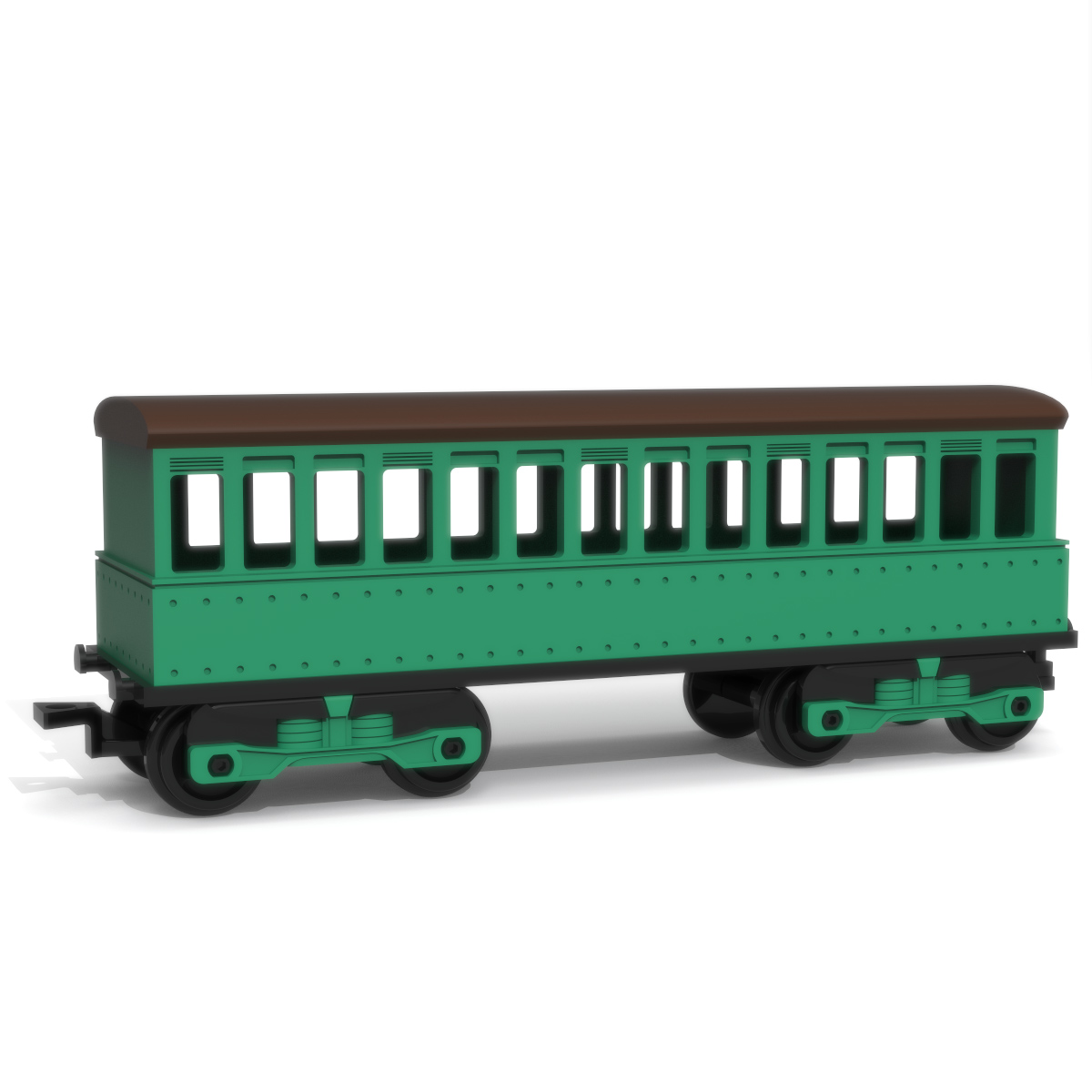 Passenger Wagon, 3D Printer Models