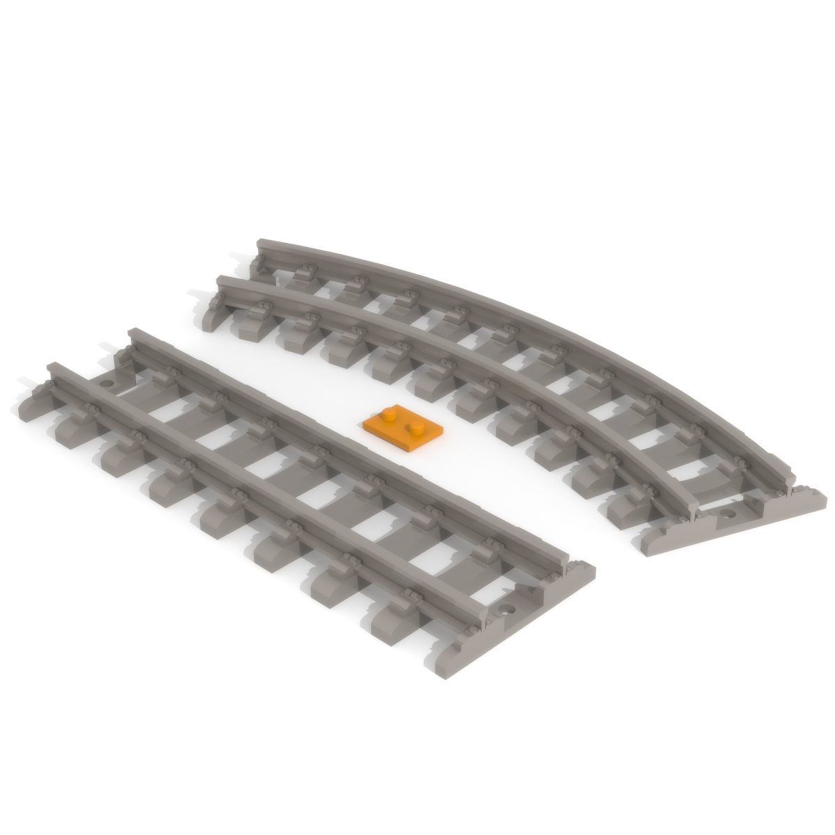 Rail Track Print Bed, 3D Printer Models