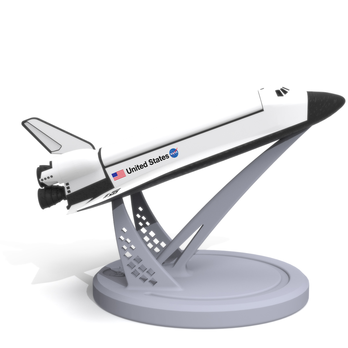 Space Shuttle Atlantis, 3D Printer Models