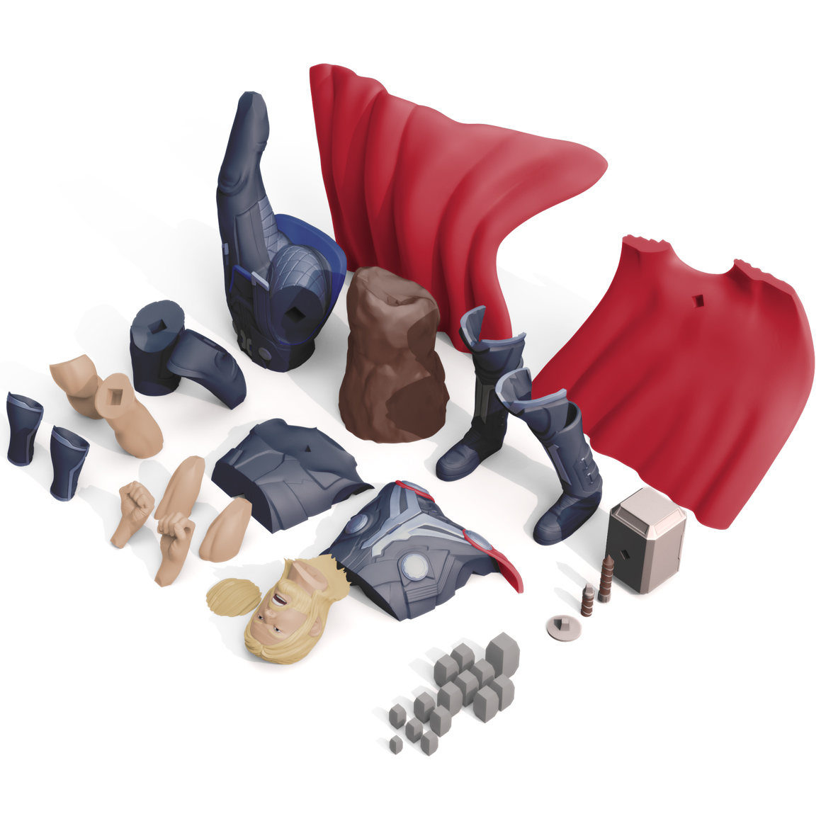 Thor Print Bed, 3D Printer Models