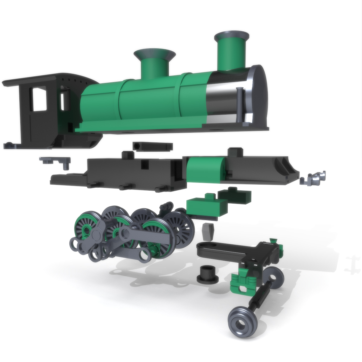 Steam Engine, 3D Printer Models